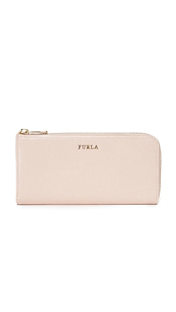 Furla Bablyon XL Zip Around Continental Wallet