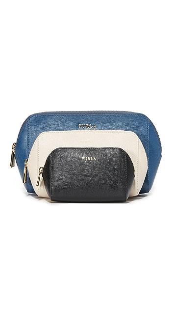 Furla Electra Cosmetic Case Set