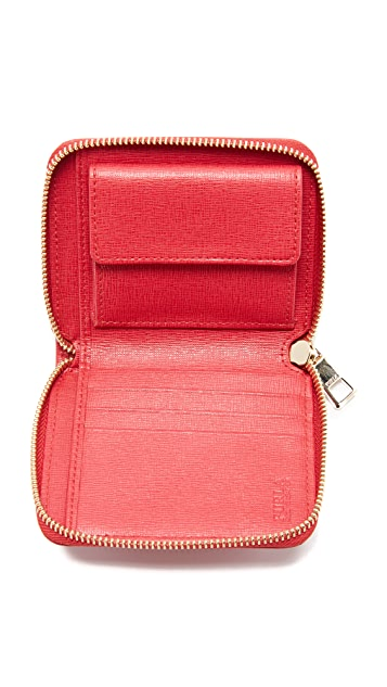 Furla Bablyon Small Zip Around Wallet
