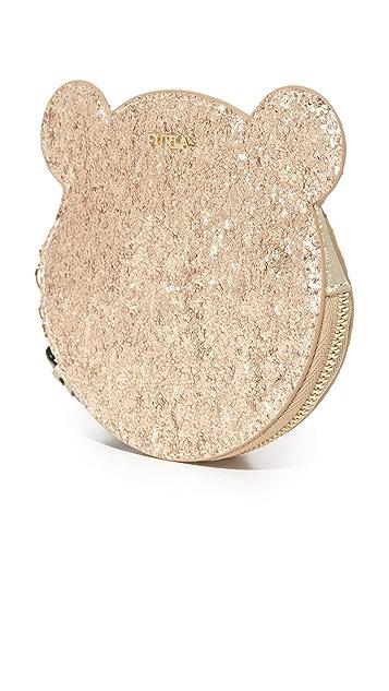 Furla Allegra Glitter Coin Case