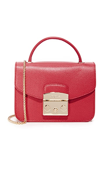 93606dbc4b95 Furla Metropolis Mini Top Handle Bag
