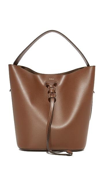 Furla Vittoria Medium Drawstring Bag