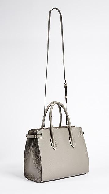 79d81dbf5f4b Furla Маленькая объемная сумка Pin с короткими ручками | SHOPBOP