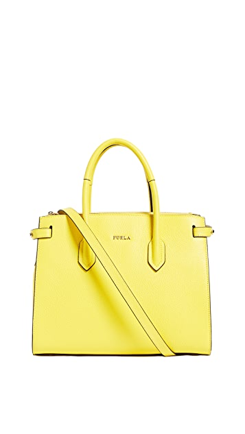 Furla Pin Small Tote
