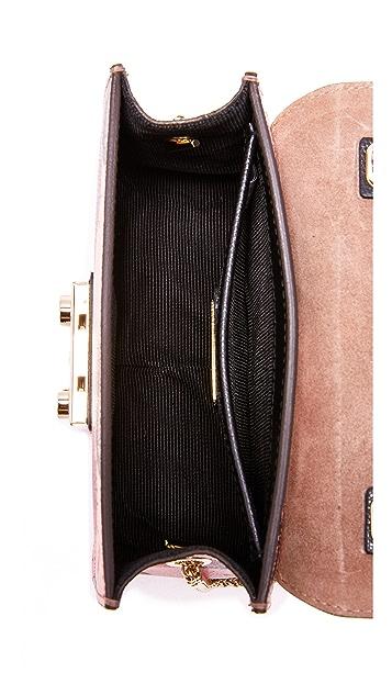 Furla Миниатюрная сумка через плечо Metropolis с ручкой сверху
