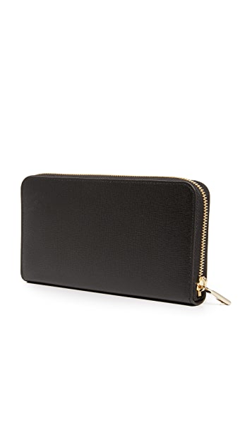 Furla Babylon Zip Around Continental Wallet