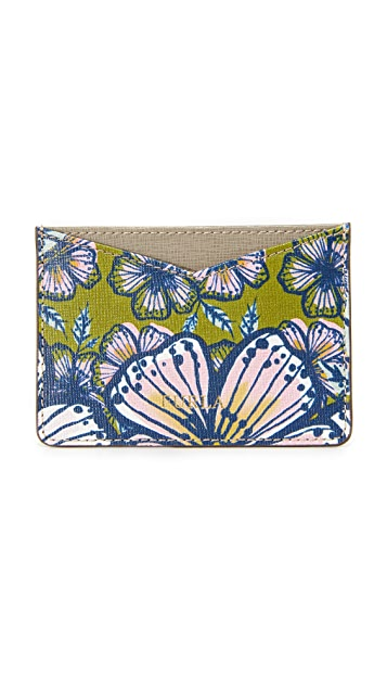 Furla Printed Gioia Card Holder
