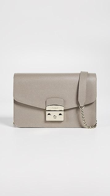b1220cfdb49b3 Furla Metropolis Small Shoulder Bag