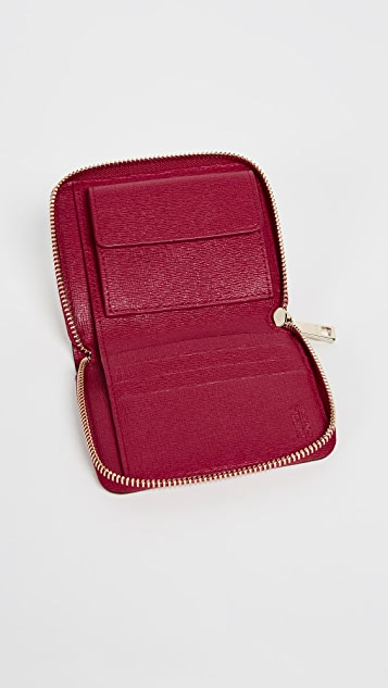 Furla Babylon Small Zip Around Wallet
