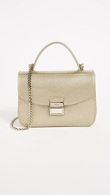 Furla Candy Sugar Mini Cross Body Bag - Gold