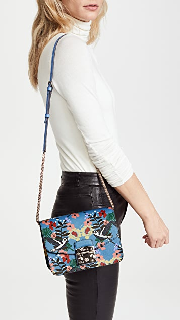 Furla Metropolis Small Fiordaliso Cross Body Bag