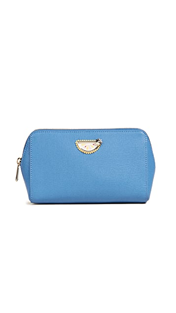 Furla Primizia Large Lemon Cosmetic Case