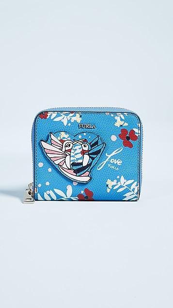 Furla Afrodite Small Zip Around Wallet