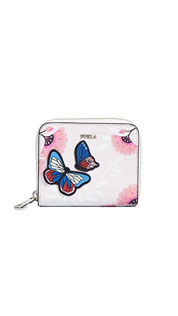 Furla Afrodite Small Zip Around Wallet