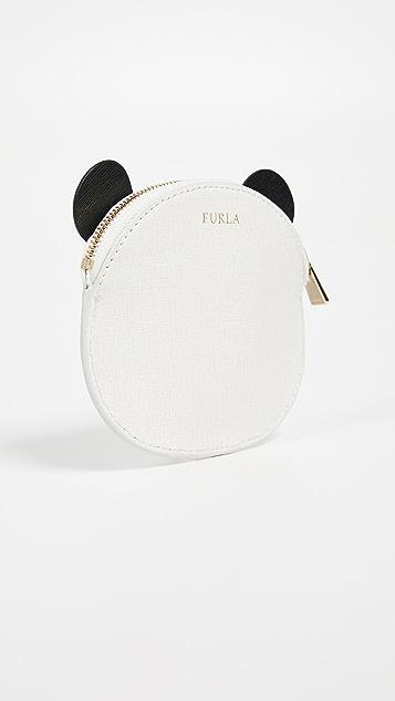 Furla Allegra Small Panda Coin Case