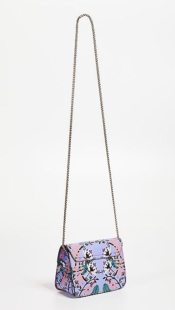 Furla Metropolis Lavendar Mini Cross Body Bag