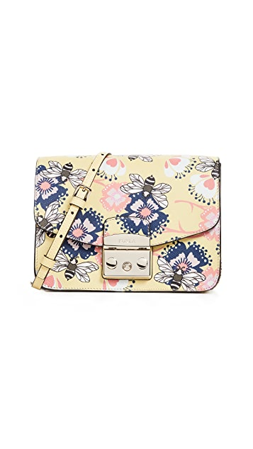 Furla Metropolis Bumble Bee Small Cross Body Bag