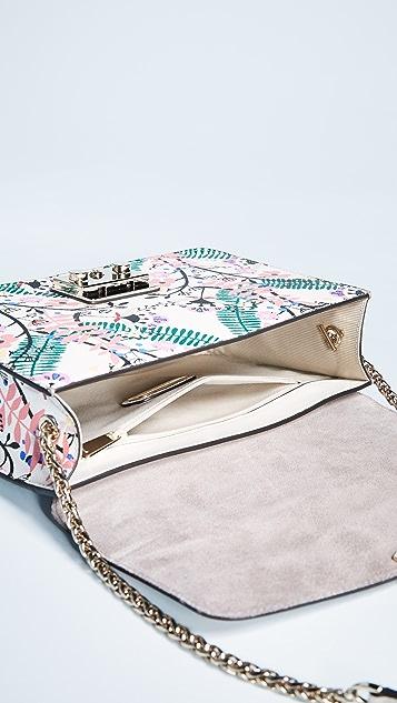Furla Metropolis Small Lavanda Shoulder Bag