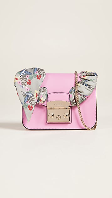 Furla Metropolis Seta Mini Cross Body Bag