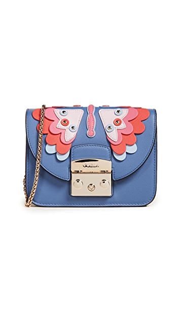 Furla Metropolis Papillon Mini Cross Body Bag