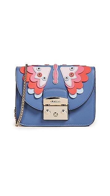Furla Metropolis Papillon Mini Cross Body Bag