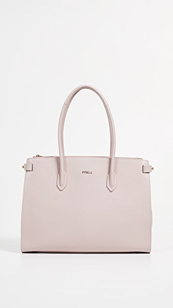 Furla Pin Medium East West Tote