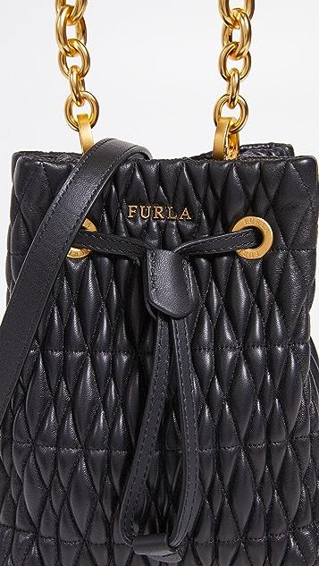 Furla Stacy Cometa Mini Drawstring Bag