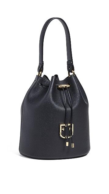 Furla Corona Drawstring Bag