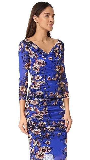 Fuzzi Long Sleeve Dress