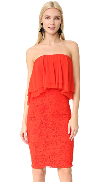 Fuzzi Strapless Dress
