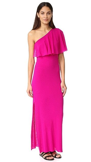 Fuzzi One Shoulder Dress