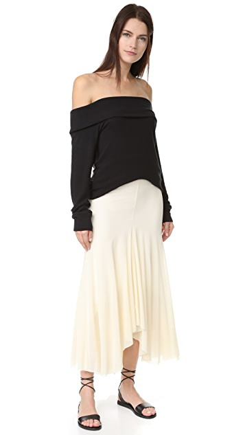 Fuzzi Long Skirt