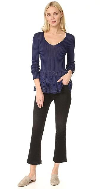 Fuzzi V Neck Sweater