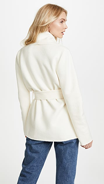 Fuzzi Long Sleeve Coat