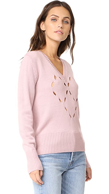 Fuzzi Heart Sweater