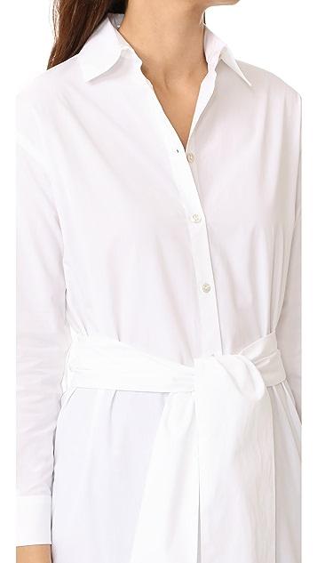Fuzzi Long Sleeve Button Down Shirt