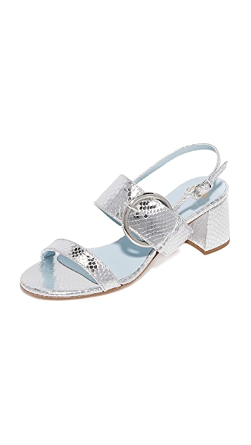 Frances Valentine Betty Block Heel Sandals