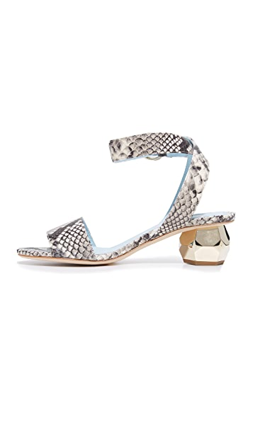 Frances Valentine Layla Jeweled City Sandals