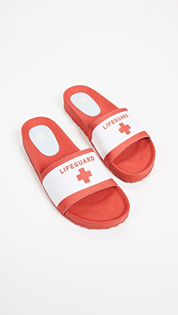 Frances Valentine Mai Lifeguard Slides