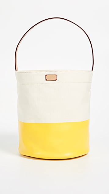 Frances Valentine Large Drawstring Bucket Bag