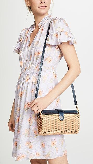 Frances Valentine Betsy Wicker Cross Body Bag