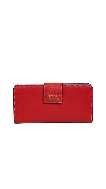 Frances Valentine Jefferson Slim Wallet
