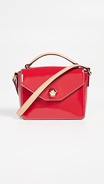 Frances Valentine Soft Mini Midge Bag - Red