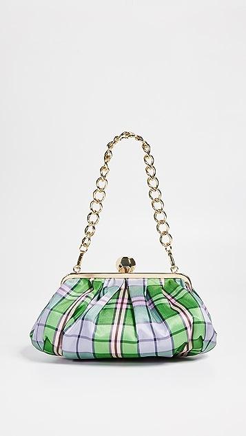 Frances Valentine Geodome Frame Bag - Plaid/Multi