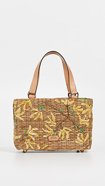 Frances Valentine Small Spring Flowers Tote