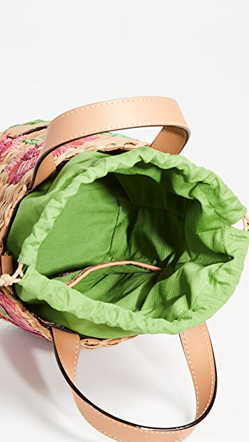Frances Valentine Маленькая сумка-ведро Spring Flower