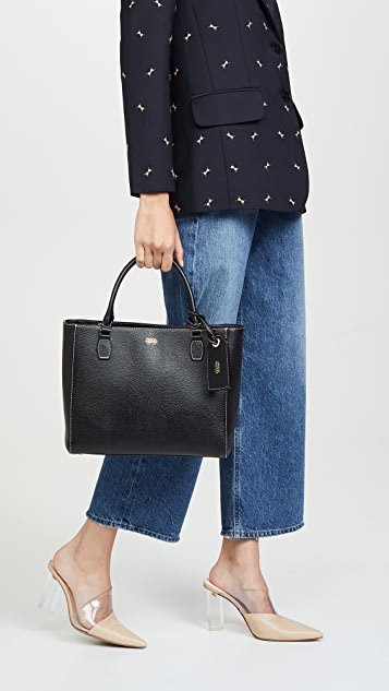 Frances Valentine Olivia Double Handle Tote Bag