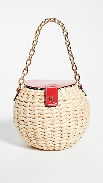 Frances Valentine Honeypot Mini Bucket Crossbody Bag