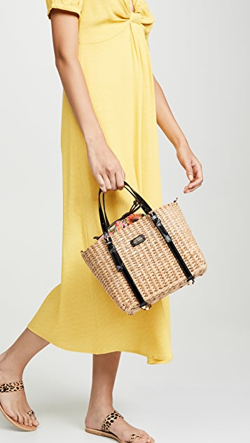 Frances Valentine Небольшая объемная сумка с короткими ручками