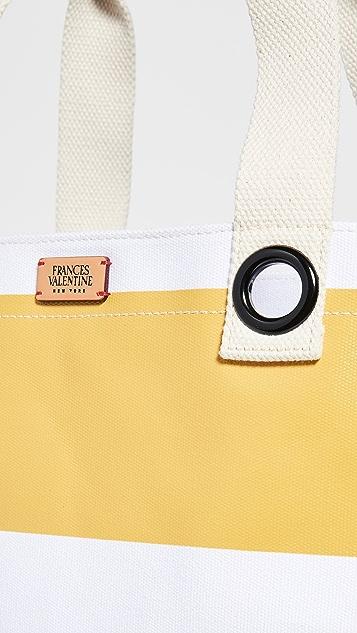 Frances Valentine Дорожная объемная сумка с короткими ручками